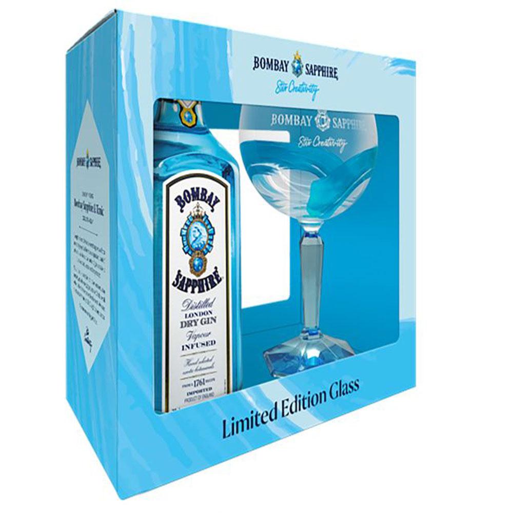Bombay Sapphire Gin Gift Box (750ml)