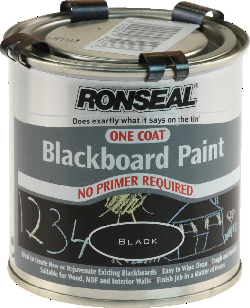 One Coat Blackboard Paint
