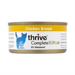 Thrive Complete 整全貓罐頭 75g - 幼貓健康之選