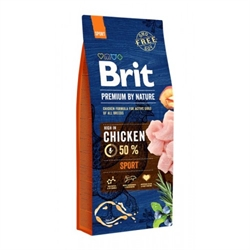 Brit Premium 高能量狗糧 15KG