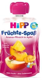 HiPP 有機菠蘿蜜桃蘋果唧唧裝 /6