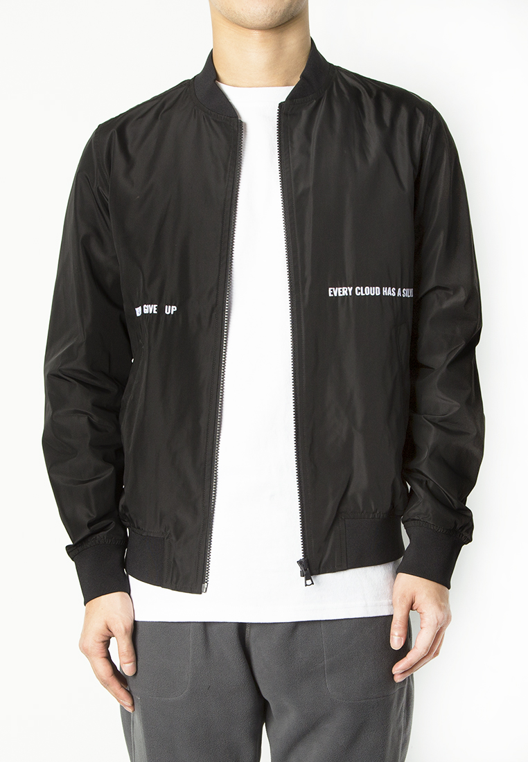 BSX Embroidered Bomber Jacket(10407011109)