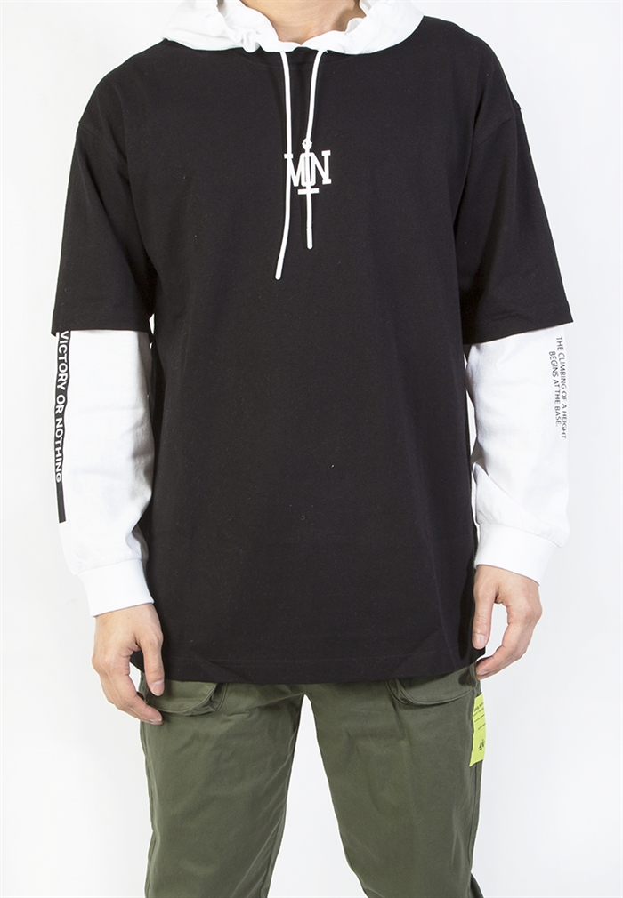 BSX Oversize double layer Tee (110408061102)