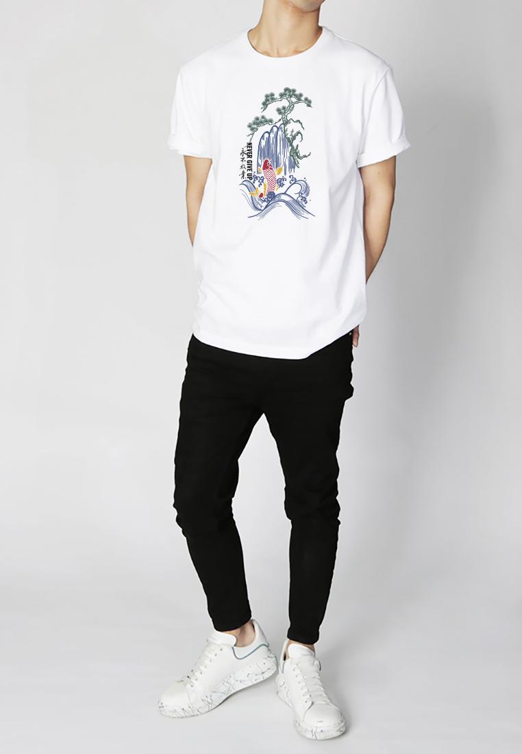 BSX Regular Fit Printed T- shirt20409024699